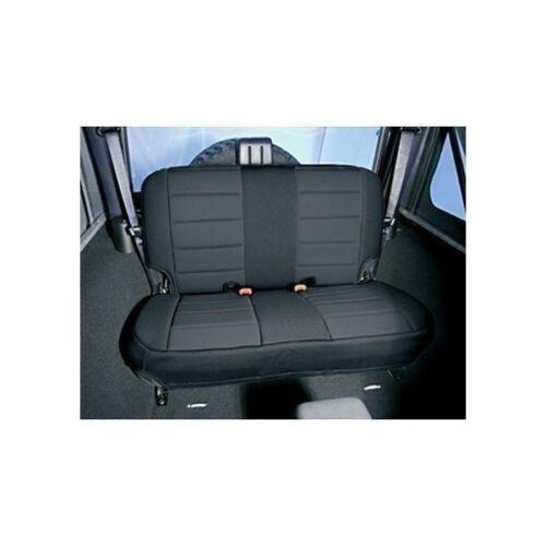 Rugged Ridge Black Neoprene Rear Seat Cover 1997-2002 Jeep TJ Wrangler 13261.01