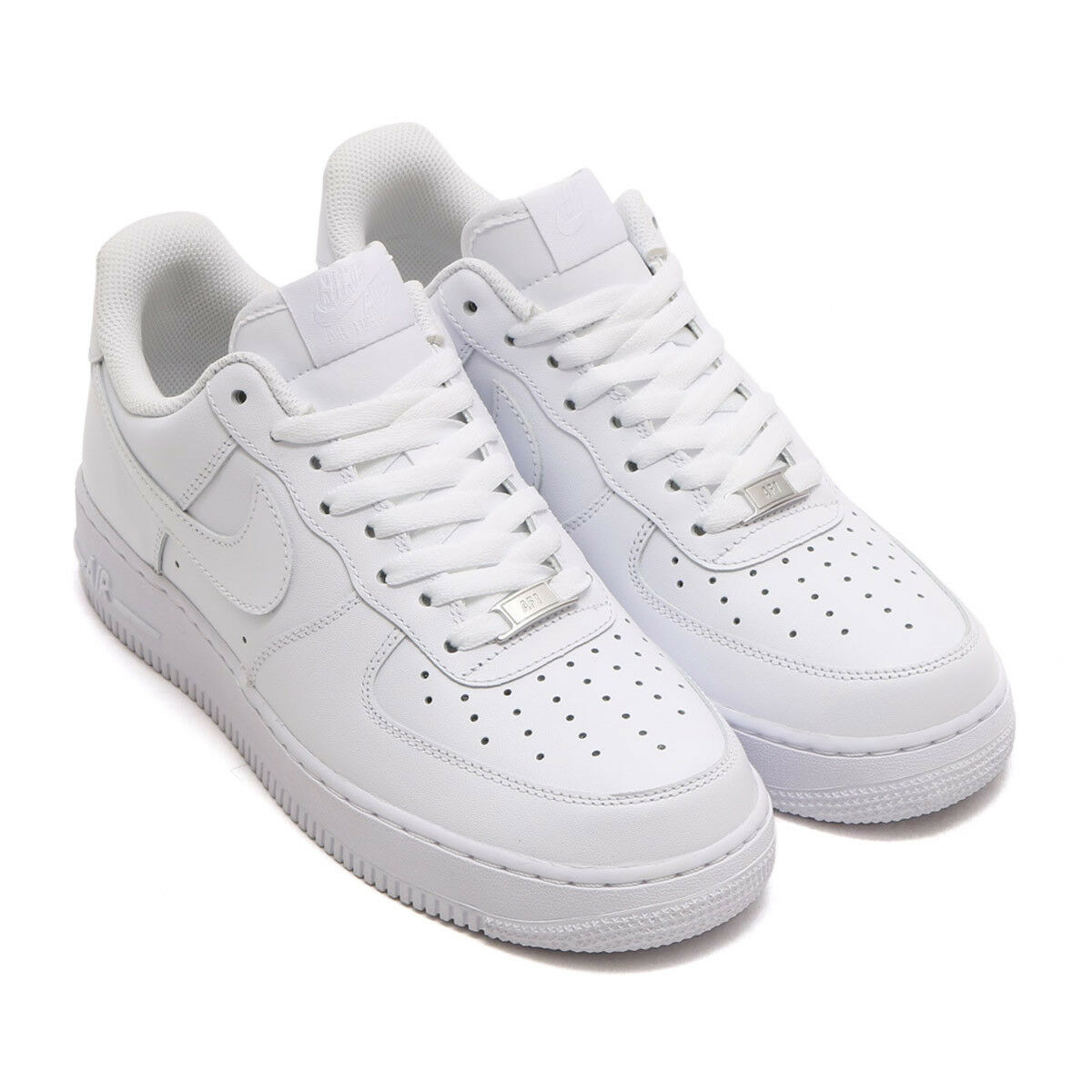 Nike Air Force 1 One 07' All White Mens 315122-111 Low Leather Shoes AF1 315122-111 Mens DS NWT 81bb8f