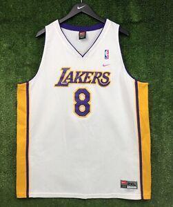 Vintage Nike Authentic Los Angeles Lakers Kobe Bryant #8 Swingman ...