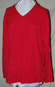 790e2fdce34 LIZ CLAIBORNE NEW YORK LS PULLOVER SWEATER W V NECK CABLEKNIT PINK ...