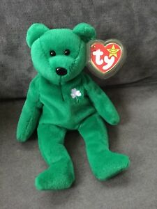3a42350e298 Image is loading Ty-Beanie-Baby-034-ERIN-034-THE-IRISH-
