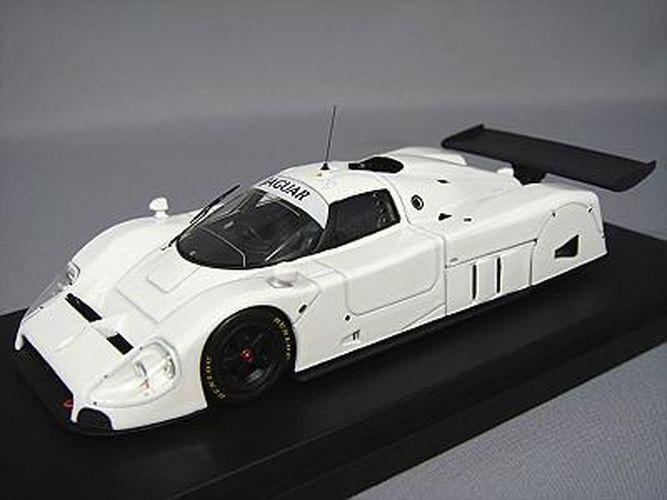 Hpi-Racing 1 43 Jaguar Jaguar Jaguar R XJR-9 Llano Color blancoo con Placa de Shizuoka Hobby mostrar 883272