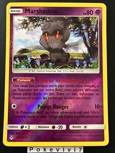Carte-Pokemon-MARSHADOW-81-214-HOLO-Reverse-Soleil-et-Lune-10-SL10-FR-NEUF