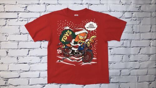 "Vintage 90's Garfield Christmas ""Who Needs Reindee"
