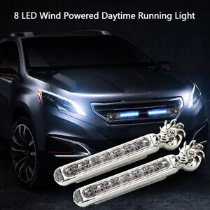 1Pcs-potencia-del-viento-8-LED-coche-niebla-DRL-diurna-Luz-Advertencia-Auto-cabeza-Ho
