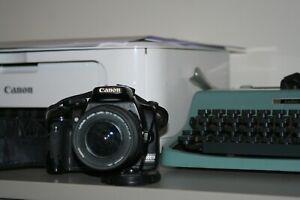 Fotocamera-Canon-EOS-400D-reflex-digitale-obiettivo-canon-18-55-cf-card-2gb