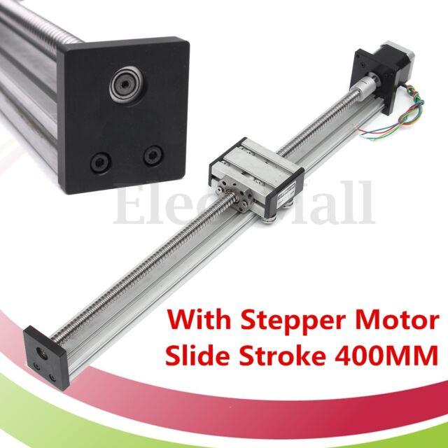 1204 Ball Screw CNC Linear Slide Stroke 400MM Long Stage Actuator Stepper Motor