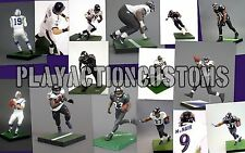 Choice of 1 Baltimore Ravens Custom action figure made w/ Mcfarlane NFL