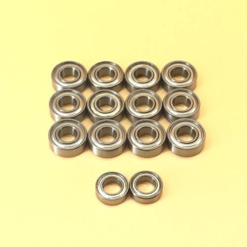 14pcs Metal Sealed Bearing For TAMIYA M03 M04 DORL/_A FF02