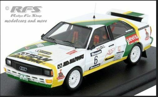 Audi Quattro - L. Pavilk K. Jiratko - 1st Barum Rally 1986  6 - Troféu