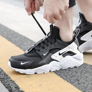 Details about Nike Air Huarache PRM Premium Zip Men's QS BQ6164 001 Black White Very Rare