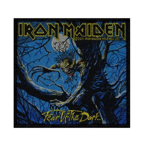 Iron Maiden Fear of the Dark Patch Album Art Heavy Metal Woven Sew On Applique