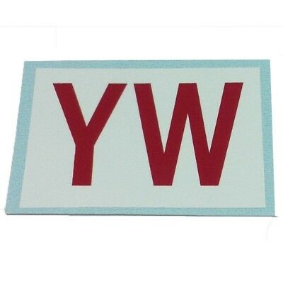 1966-78 YW Pontiac 400 H O  Automatic Ram Air Engine Code Decal | eBay