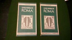 RIONE III - COLONNA. Parte I - Parte II. Guide Rionali di Roma Palombi,  20mg21