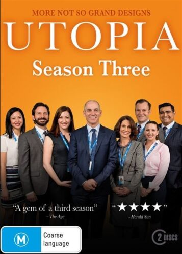 1 of 1 - Utopia : Season 3 (DVD, 2017, 2-Disc Set), NEW SEALED REGION 4