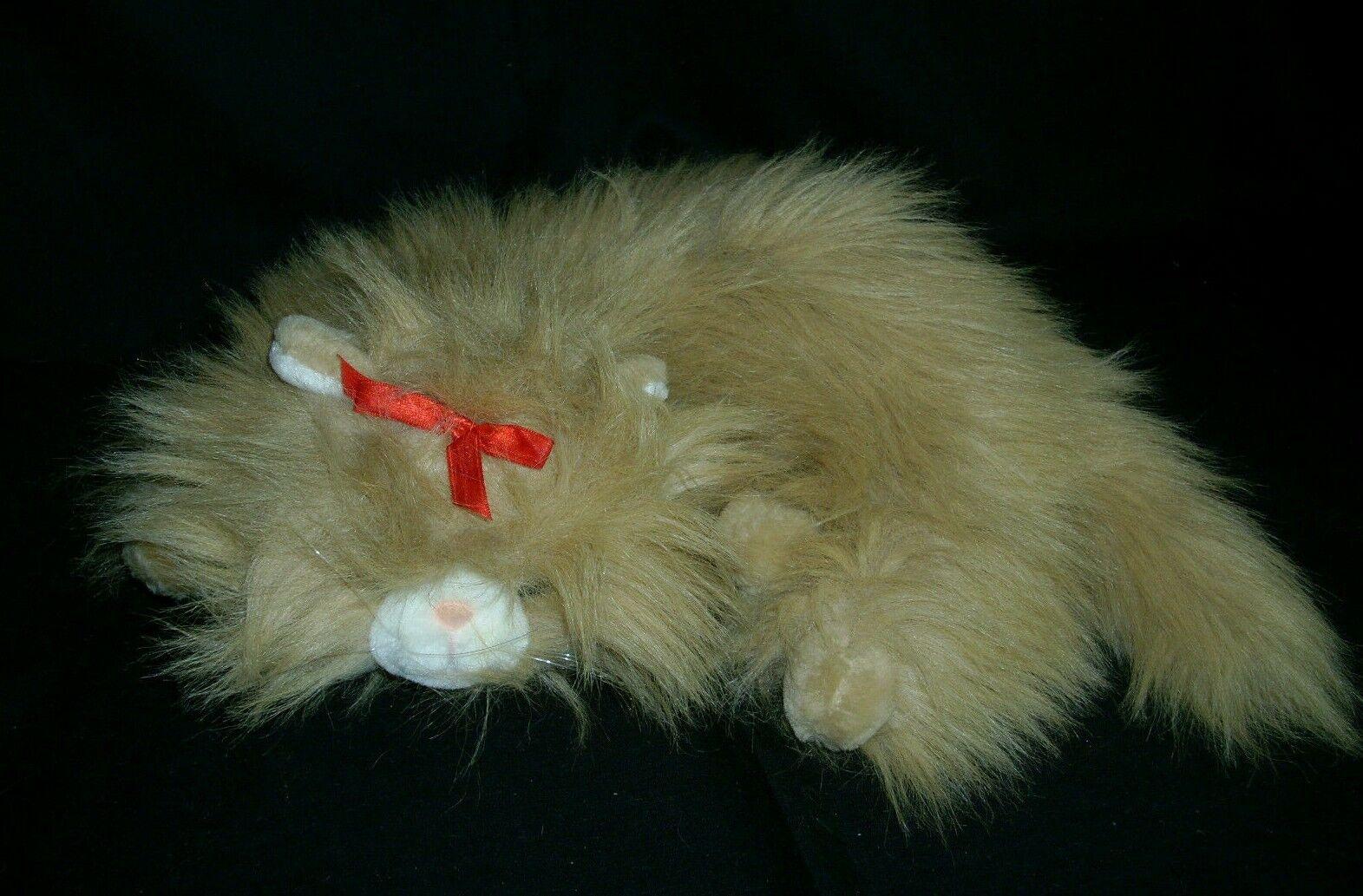 VINTAGE COMMONWEALTH 1991 KIT'N MEOWING KITTIES STUFFED ANIMAL PLUSH CAT SOUND