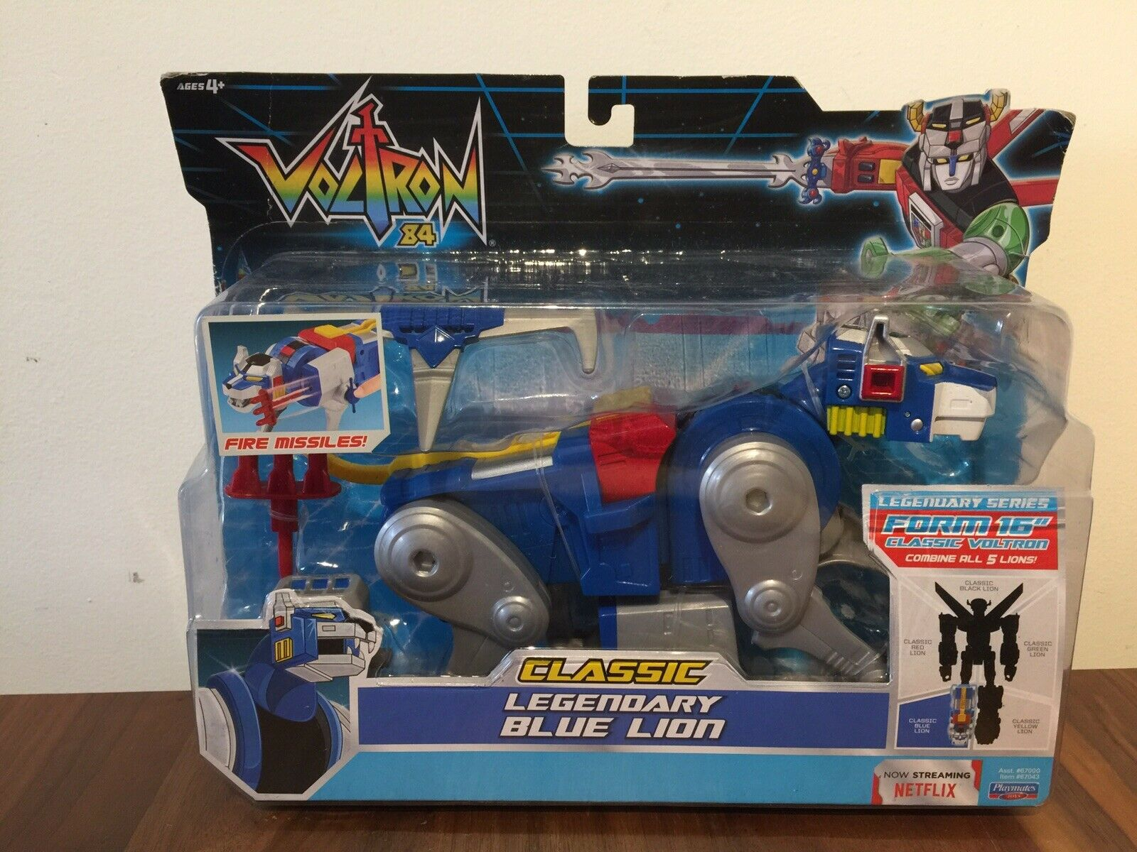 Voltron 84 Classic  Legendary bluee bluee bluee Lion (Brand New Unopened) d4f353