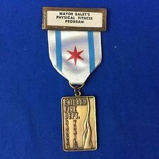 Boy Scout Trail Medal Chicago Fire Dept. Mayor Daley's Ranger Trails