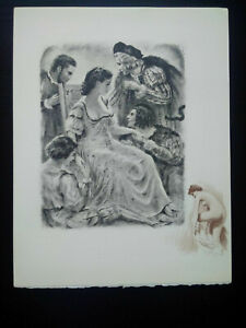 Rare-curiosa-paul-emile-becat-engraving-perfect-condition-scene-galante-drypoint