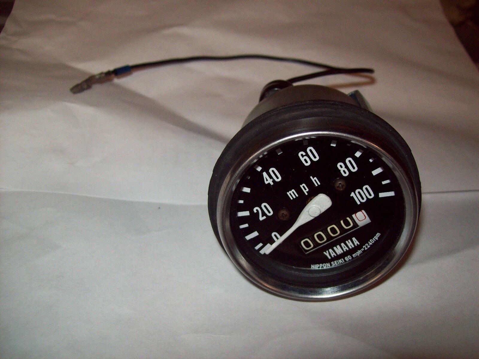 Vintage Yamaha Snowmobile Restored Speedometer 1971 SS 433 SR 433 72 SR 433 643