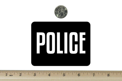 3 x 4 Motard Réfrigérateur Aimant police BM699