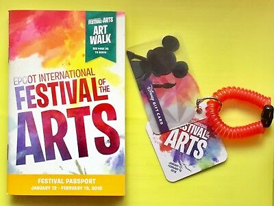 Epcot International Food /& Wine Festival Disney Gift Card with $0 No Value *READ