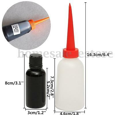 30ML 505B Black Glue Horn Centre Gum Speaker Glue Repair With Empty Bottle