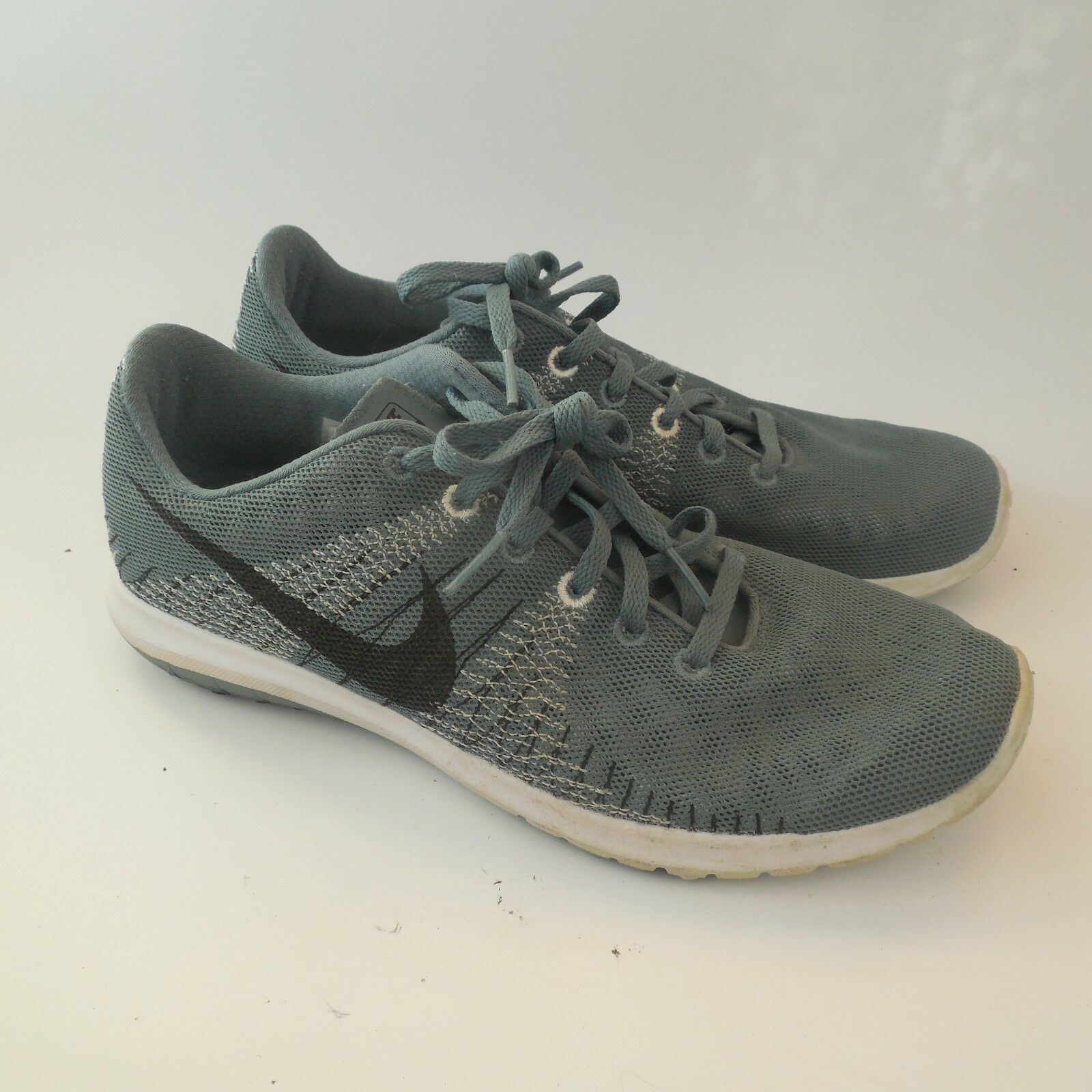 Brand discount Nike Flex Fury Running Shoes Light Sneaker 705298-401 Mens 7 Med Gray No Insoles
