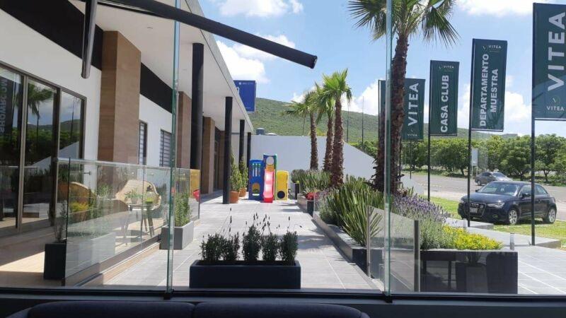 Departamento en venta en Vitea Gardens El Refugio, en Querétaro, Querétaro, con 3 recámaras