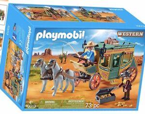 Playmobil-70013-Western-Stagecoach-Building-Set