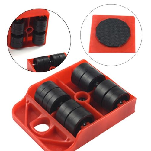 Move Furniture Tool Transport Shifter Moving Wheel Sliders Remover Roller Heavy