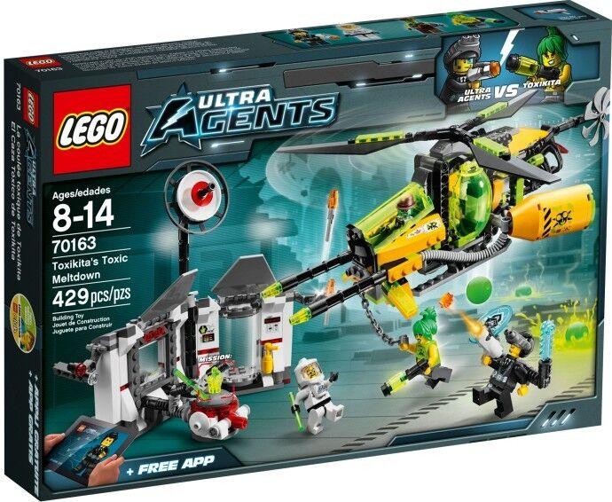 LEGO Ultra Agents - 70163 Toxikita 's laboratorio attacco/Toxic scaricarle-NUOVO & OVP