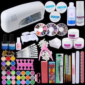 coscelia 9w lamp acrylic powder liquid kit uv gel beauty