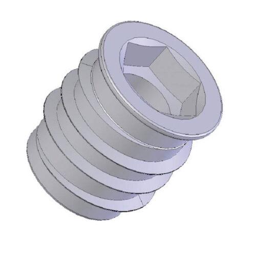 100 Stück Einschraubmuffe Eindrehmuffen Einschraubmuttern M 6 und M 8