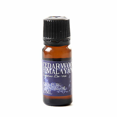 Mystic Moments | Cedarwood Himalayan Essential Oil - 10ml (EO10CEDAHIMA)