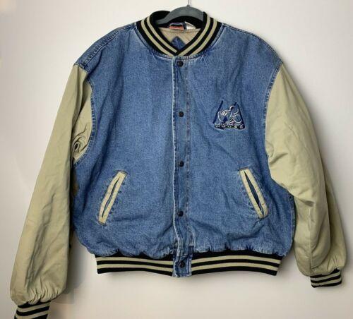 Vintage Disney Mickey Mouse Denim Jacket Size XLar