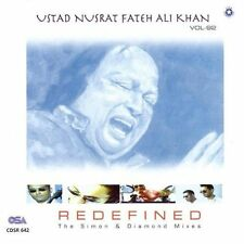 Nusrat Fateh Ali Khan - Vol 92 - Redefined The Simon & Diamond Mixes - CD  *NEW*