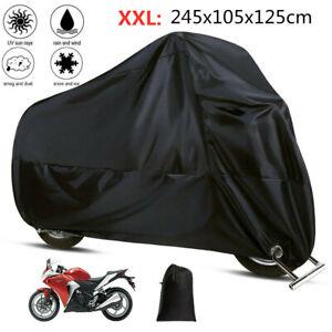 Outdoor UV Protector Motorbike Bike Rain Dust Motorcycle Cover Waterproof size X