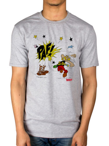 Official Asterix Punch T-shirt Unisex Comics Cartoon Character Merch French Fan