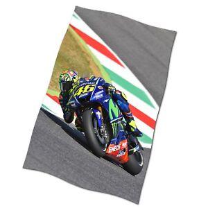 Valentino Rossi Flag Banner NEW MotoGP Yamaha Motor Fabric Poster #3