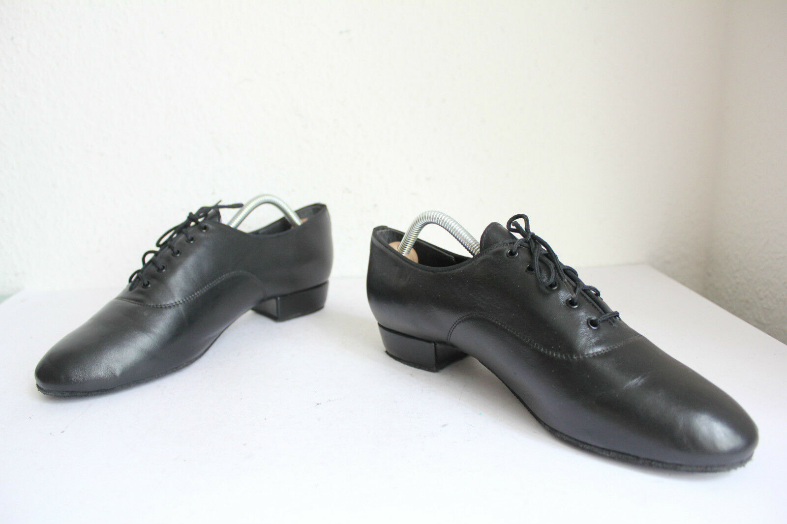 Dance shoes - elegante normalissime VERA PELLE NERO eu:43-uk:9 - shoes Made in Inghilterra 4bb64e