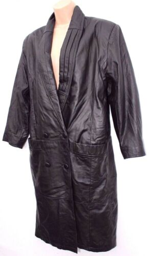 Kvinner M Length Størrelse Black L Vintage 100 Klein Calf Charles Skinnjakke 1z17PRqrg