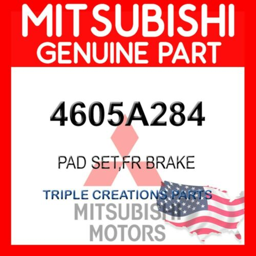 4605A284 PAD SET FRONT BRAKE GENUINE OEM MITSUBISHI PAJERO MONTERO L200