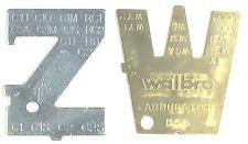 Walbro & Zama ZT-1 500-13 Original Metering Lever Adjustment Tools