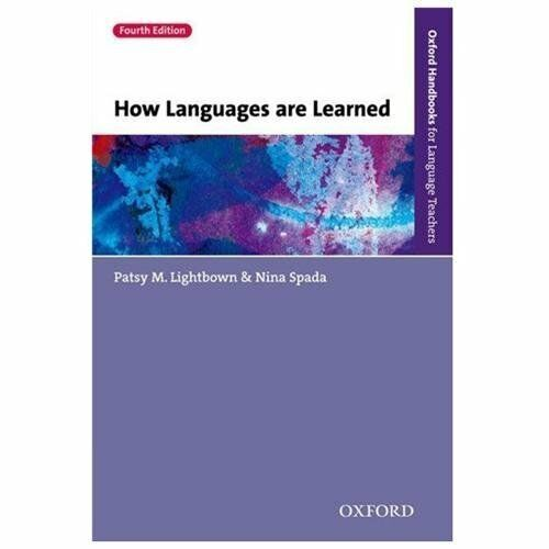How languages are learned by nina spada 2013 paperback ebay resntentobalflowflowcomponenttechnicalissues fandeluxe Choice Image