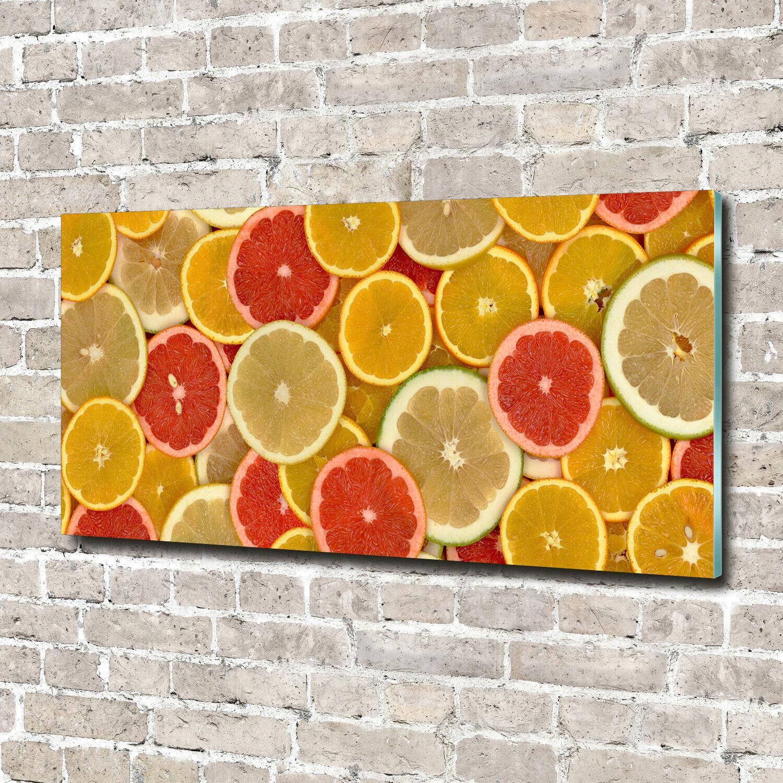 Acrylglas-Bild Wandbilder Druck 140x70 Deko Essen & Getränke Zitrusfrüchte