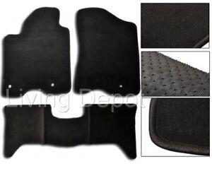 maxpider fiber pattern titan ip carbon black mat crew embossed floor kagu cab row nissan mats