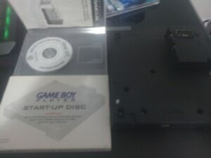 Nintendo-GameCube-Game-Boy-Player-Base-DOL-017-amp-Start-Up-Disc-Pre-Owned-Works