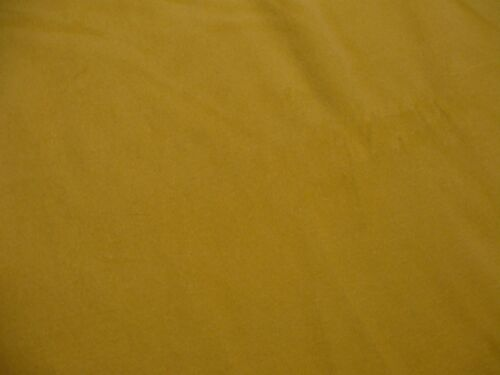 """fabric 64/"""" wide yellow cotton polyester velour"""