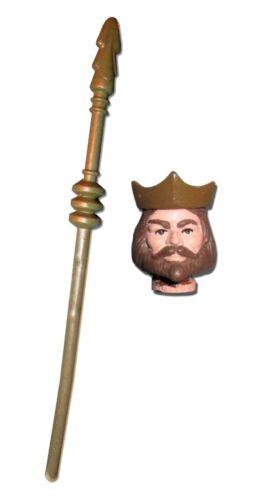 SEMI-FLEXIBLE Masters PRE-ORDER Vintage MOTU Custom KING HEAD CROWN STAFF